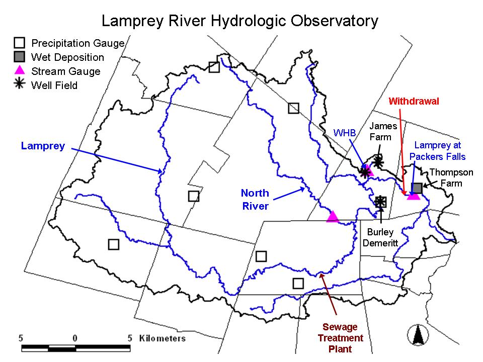 Data and Maps | NH Water Resources Research Center (WRRC) Map Of Lamprey River Epping Nh on map of great bay nh, map of merrimack river nh, map of saco river nh,